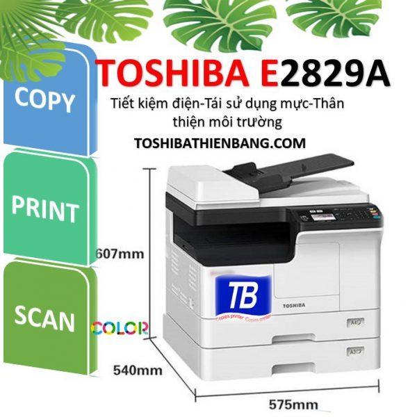 may photocopy toshiba e2829A